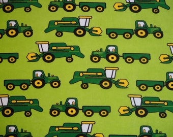 Naperonuttu harvest tractor terry cloth / stretch frotte childrens fabric Finnish design Scandinavian