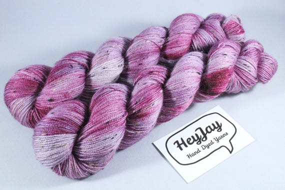 Donegal Tweed Sock Yarn, Bluefaced Leicester Wool - Cream Tea