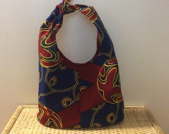 African Bucket Purse  BP122