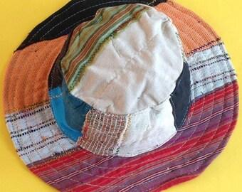 Bohemian Pure Hemp Sun Hat