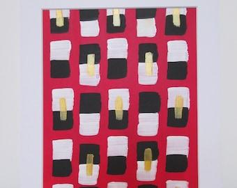 Blocked | original painting 8x10