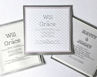 First Class Collection, Wedding Invitation (Day)