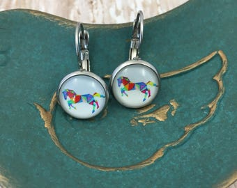 Wild and Free Earrings Horse Earrings Gifts for Her Fall Earrings Western Earrings Rodeo Earrings Country Earrings Boho Earrings Bohemian