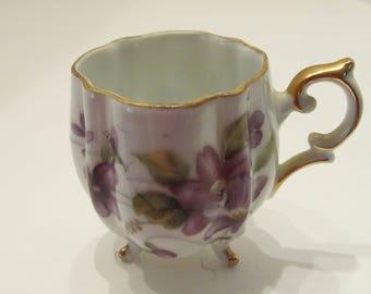 Demitasse Cup - Violets