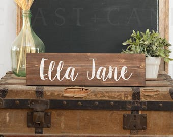 Custom name sign Child's name sign Nursery name sign Baby name sign baby name art Name sign