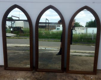 Three Vintage Wall Mirrors