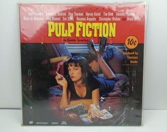 Pulp Fiction Laserdisc