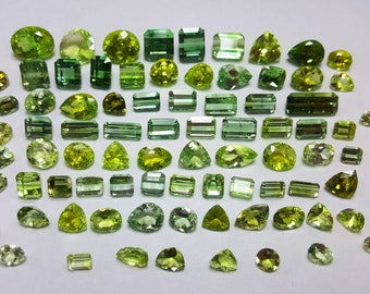 222 Carat Mixed Color Loose Gemstone Tourmaline @ Afghanistan
