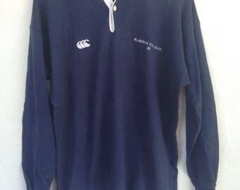 Vintage Canterbury rugby jersey Millmerran State School 95 M