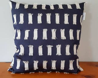 Modern cushion cover, new, Made in New Zealand, New Zealand souvenir, gift, Kiwiana, large cushion cover, dark blue, unique,