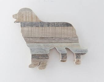 Bernese Mountain Dog, Farmhouse Decor, Rustic Home Decor, Dog Gift, Kitchen  Decor
