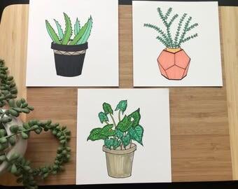Original Ink Drawings Set#1