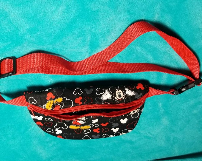 Mikey Mouse or Harry Potter fanny pack