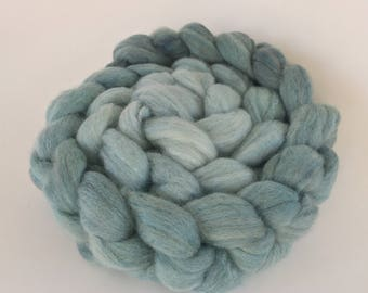 Ombre Merino and Silk Spinning Roving Combed Top
