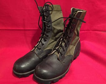 U.S Army 1980's Vintage Jungle Boots