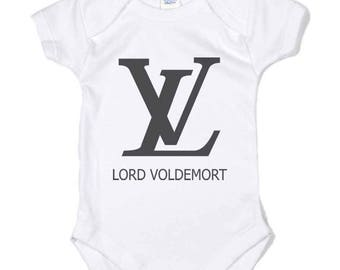 Lord Voldemort on Infant Baby Rib Lap Shoulder Creeper Onesie