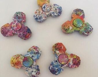 Fidget Spinner - Finger Spinner - Stress Relief - Spinner - Colorful Spinner - Multi Color Mini Spinner