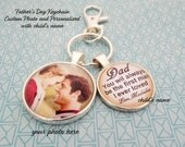 Father's Day Gift from Daughter, Daughter Gift Father's Day, Custom Photo Key chain, Key chain for Dad, Dad Gift, Father's Day Key chain