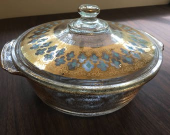 Vintage Fire King Casserole Dish