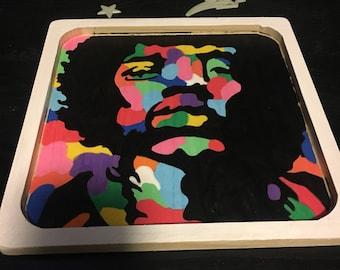 27 Club Series - Jimi Hendrix - rolling tray