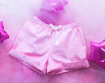 Shorts with bow. Pastel fairy kei
