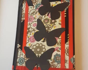 """Notebook with """"butterfly of Japan"""""""