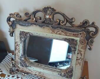 Dresser Mirror Vintage Table