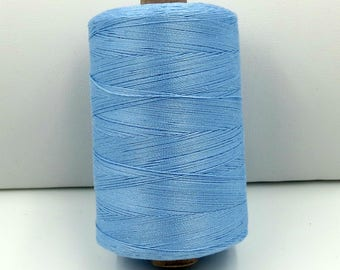 Valdani 50wt. Cotton Thread - #205 Soft Sky Blue
