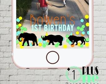 GEOFILTER Party Animal Geofilter, Safari Theme Birthday Party, Jungle Theme, Animal Prints, Baby Shower Bridal Shower Custom Snapchat Filter