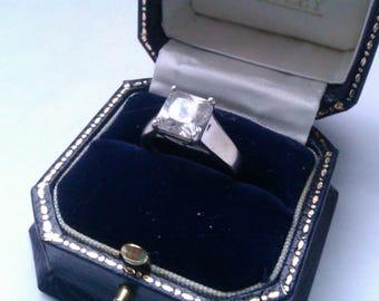 silver 925 DQCZ ring