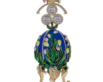 1898 Lilies of the Valley Faberge Egg 4.75""