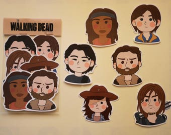 STICKERS The Walking Dead