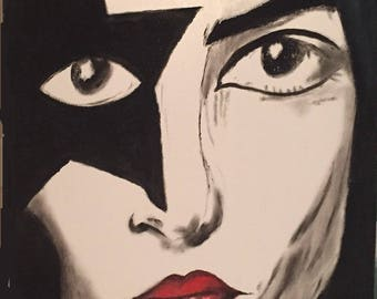 Paul Stanley Oil Painting