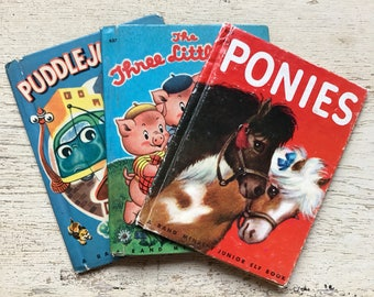 free domestic shipping--lot of 3 Rand McNally children's books