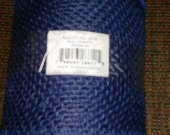 Navy blue burlap ribbon