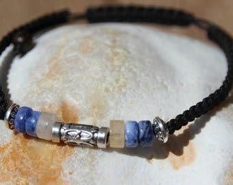 shamballa bracelet with Jasper and sodalite bead