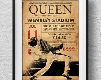Stupendous Freddie Mercury Etsy Funny Birthday Cards Online Ioscodamsfinfo