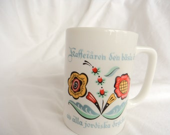 Lenox winter greetings mug cardinals catherine mcclung artist berggren traynor swedish flower mug coffee is the best of all earthly drinks made in usa m4hsunfo