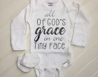 All of GODs grace in one tiny face top/design