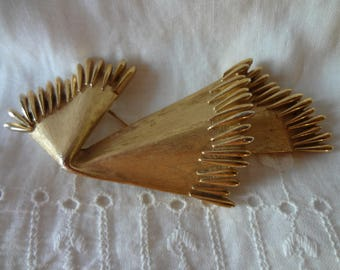 Vintage 1960's Trifari Abstract Brooch