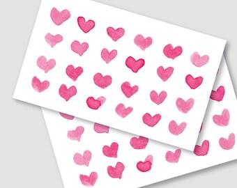 Printable Valentine Love Heart Card