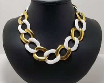 MONET Chain Link Necklace