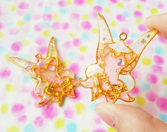 "Resin necklace ""Tinkerbell"""