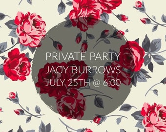 Private Paint Party | Jacy Burrows