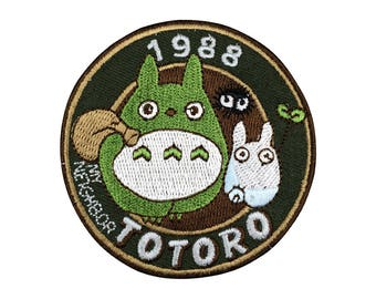 Totoro patch Embroidered sew on patch iron on patch No.330