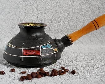 Goodbye coworker gift Chess gift Happy retirement gifts First home gift Ceramic coffee pot Turkish coffee pot Coffee lovers gift Uncle gift