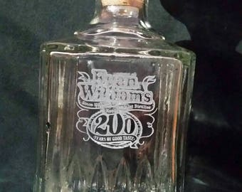 Evan Williams decanter