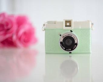 Retro Diana F+ Lomography DREAMER Mint Green Film Camera