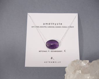 Greed Amethyst necklace