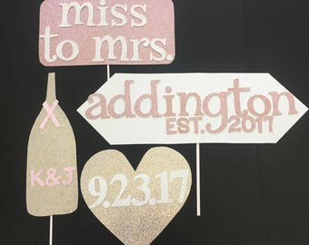 Bridal Shower Photo Booth Props- ADD ONS